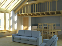 interior barn conversion extension