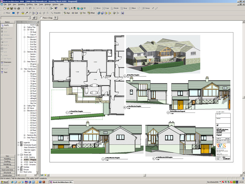 Lake district architect autodesk revit resources index page for Autodesk online home design
