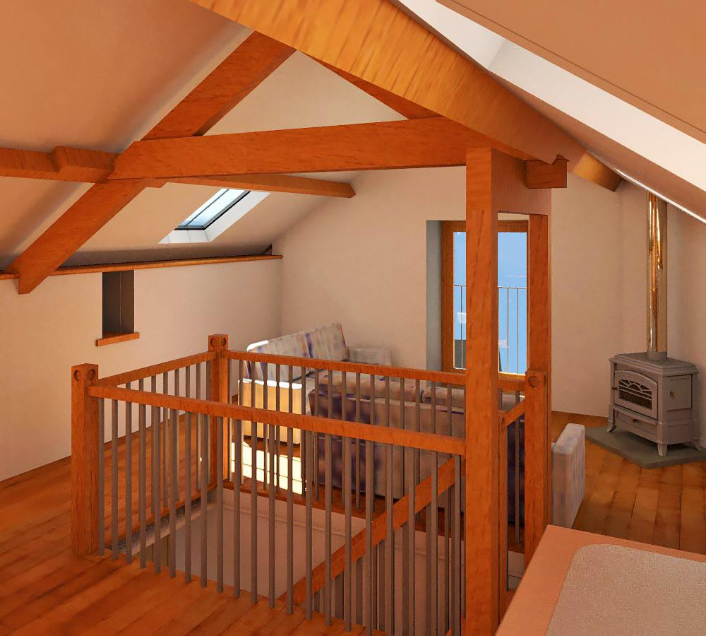 Small Barn Conversion Near Hawkshead Interior View