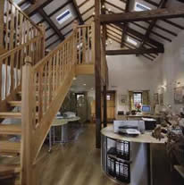 Wheelwrights Holiday Cottages offices Elterwater (photo T Mercer) - Click to link to the Works 1 page