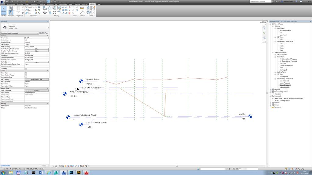 How do you do your existing building surveys into Revit now